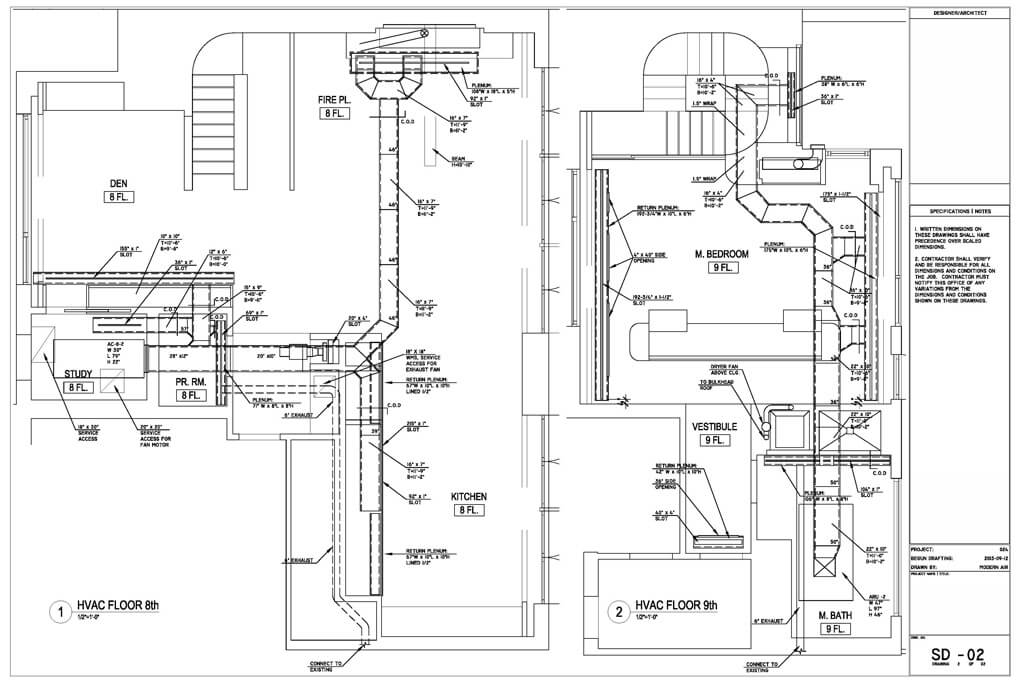mechanical hvac blueprints pictures to pin on pinterest